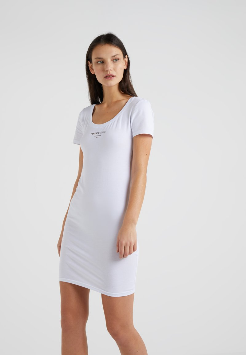 Versace Jeans - Robe fourreau - white