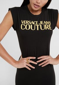Versace Jeans Couture - Shift dress - nero - 3