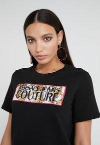 Versace Jeans Couture - Korte jurk - nero - 4
