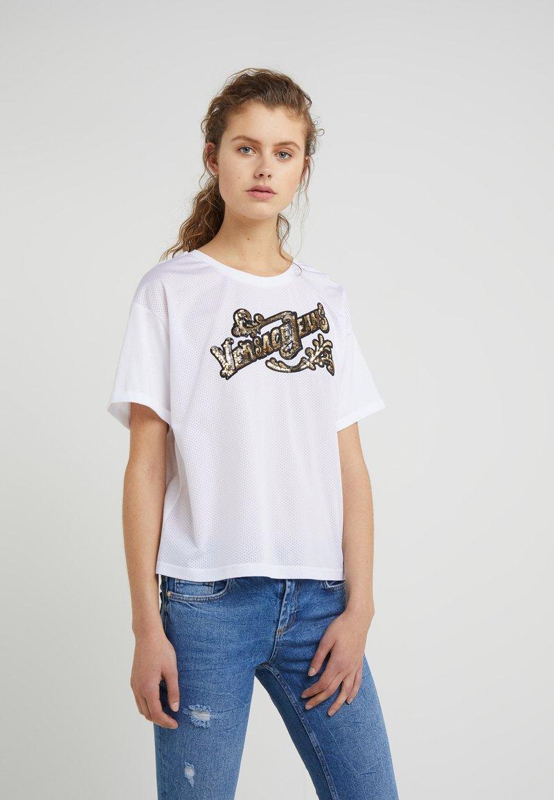 Versace Jeans - T-shirts print - bianco ottico