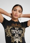 Versace Jeans Couture - T-shirt con stampa - nero