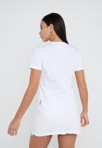 Versace Jeans Couture - T-shirt print - bianco ottico - 2