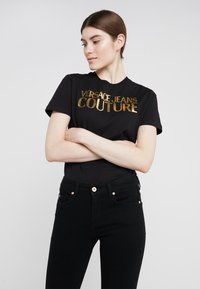 Versace Jeans Couture - T-shirt print - nero - 0