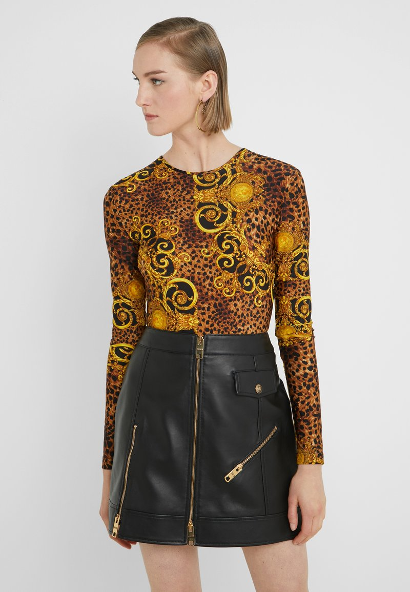 Versace Jeans Couture - Long sleeved top - gold