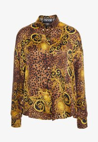 Versace Jeans Couture - Button-down blouse - gold - 3