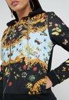 Versace Jeans Couture - Hoodie met rits - nero