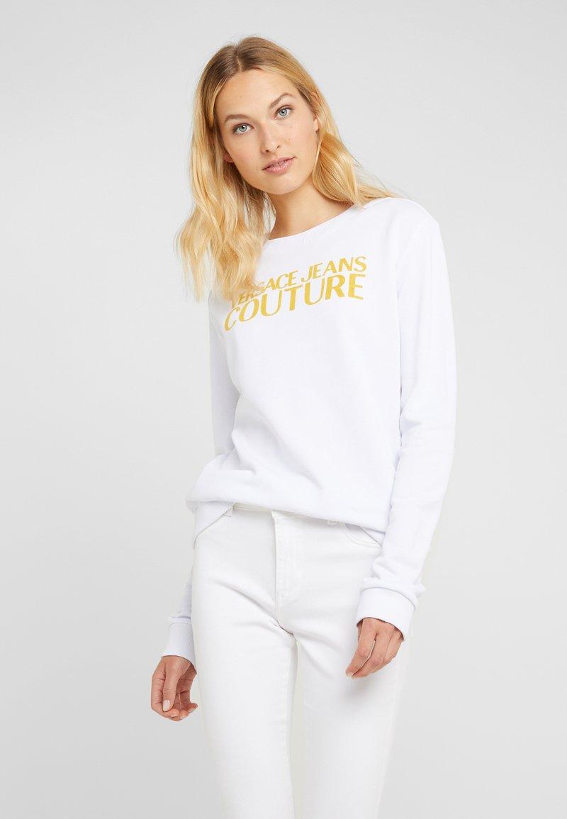 Versace Jeans Couture - Sweatshirt - bianco ottico