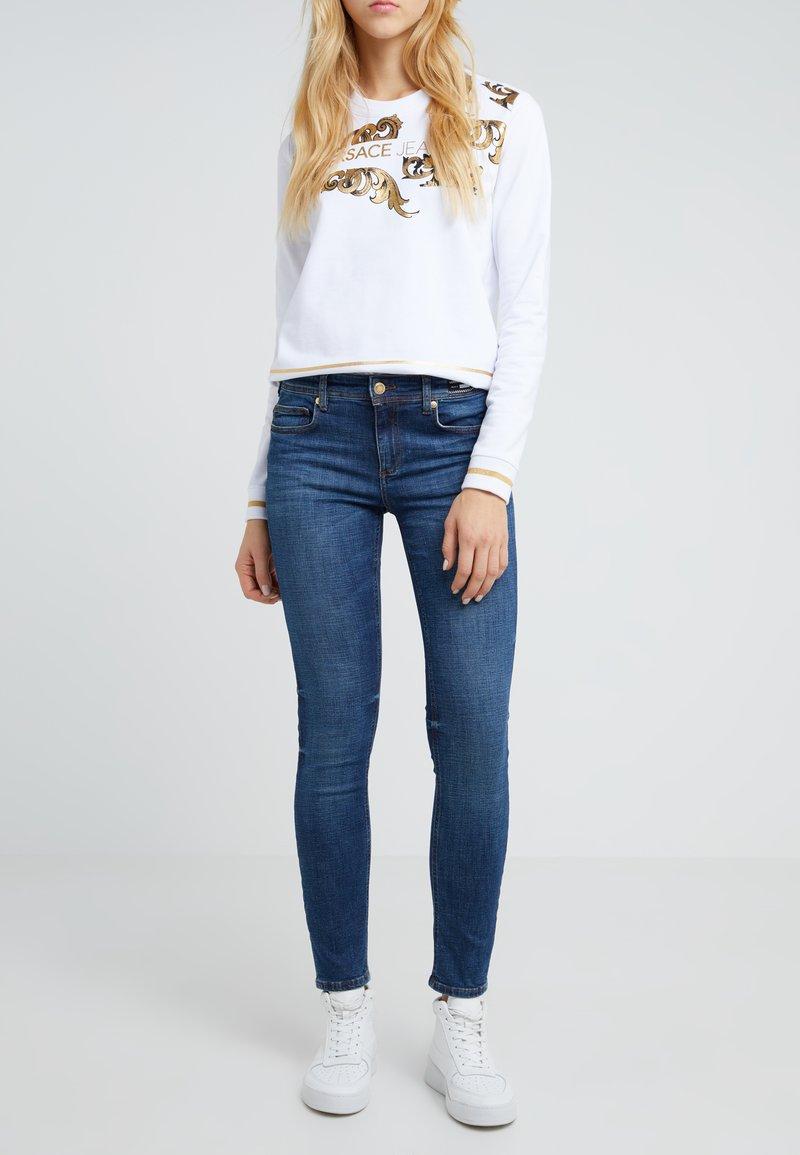 Versace Jeans - Vaqueros pitillo - indigo