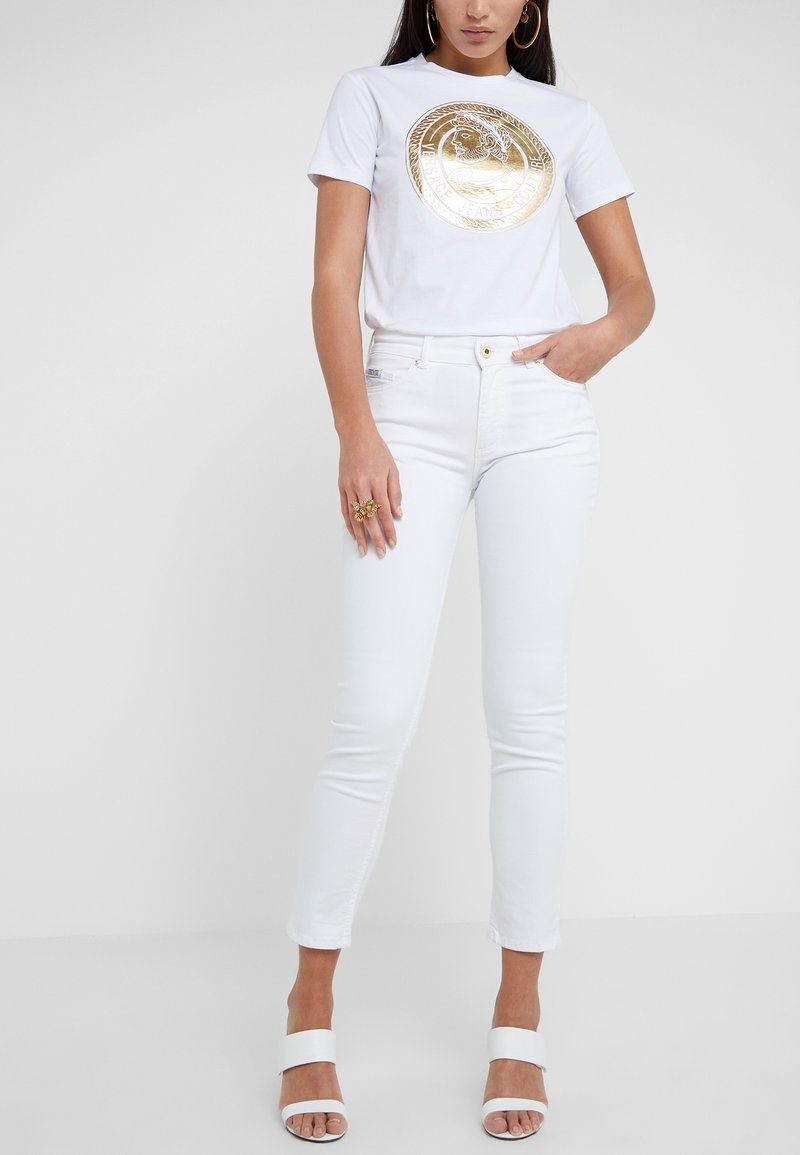 Versace Jeans Couture - Jeans Skinny Fit - bianco ottico