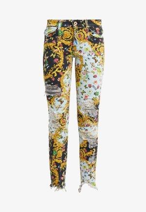 Jeans Skinny Fit - menta