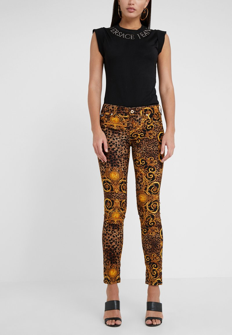 Versace Jeans Couture - Trousers - gold