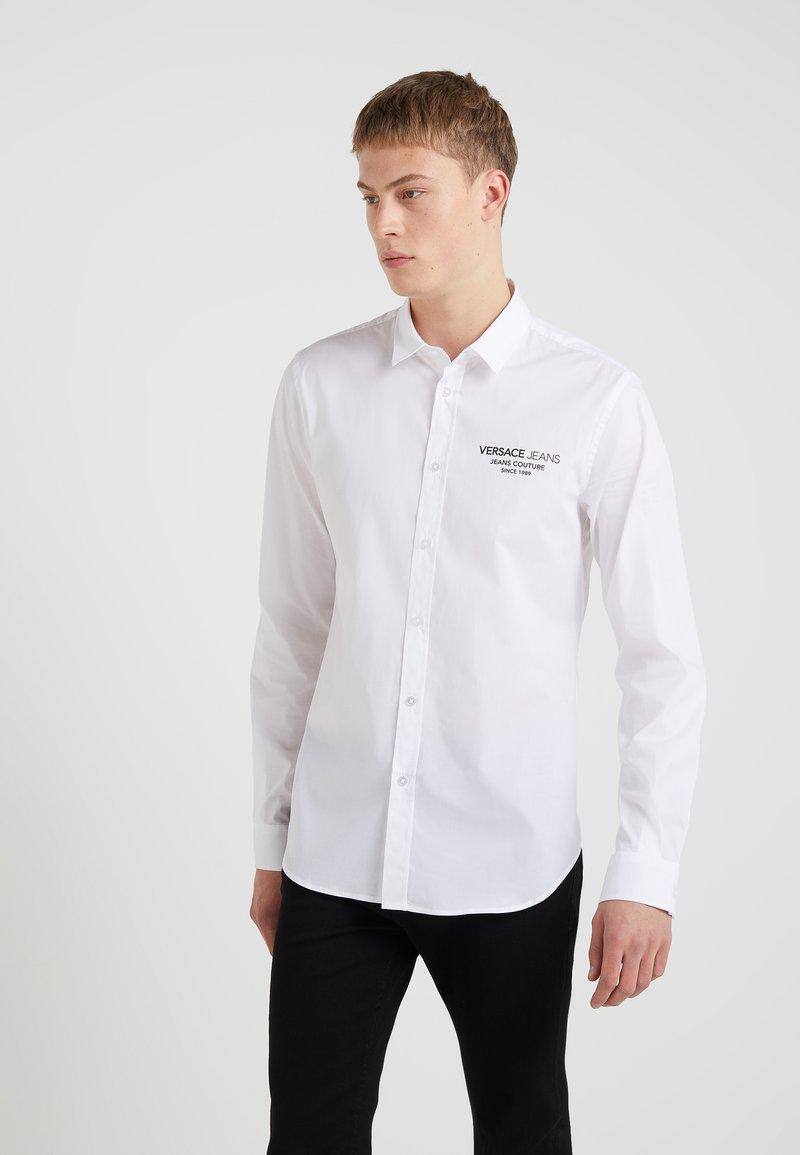 Versace Jeans - TUM BASIC SLIM FIT  - Skjorta - white