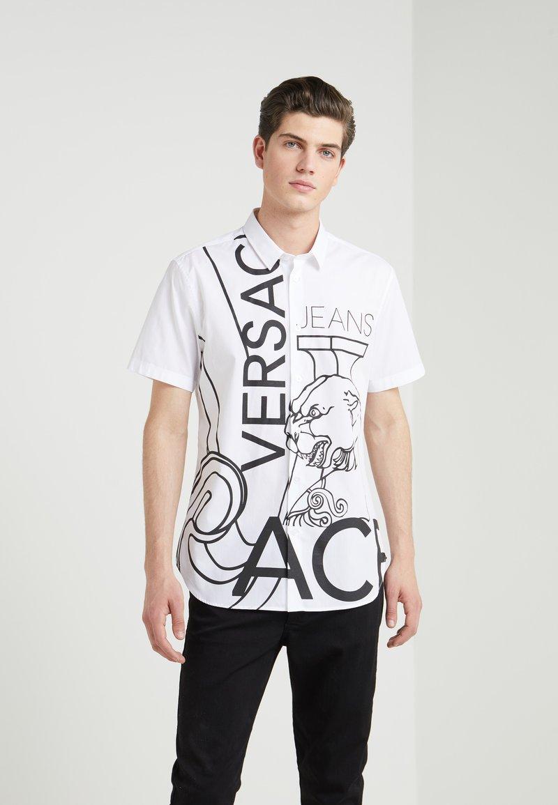 Versace Jeans - TIGER BIG SLIM FIT - Shirt - white