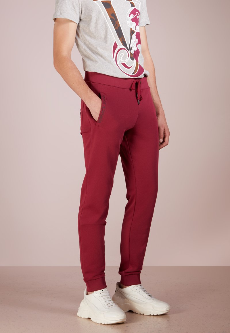 Versace Jeans - Tracksuit bottoms - bordeaux