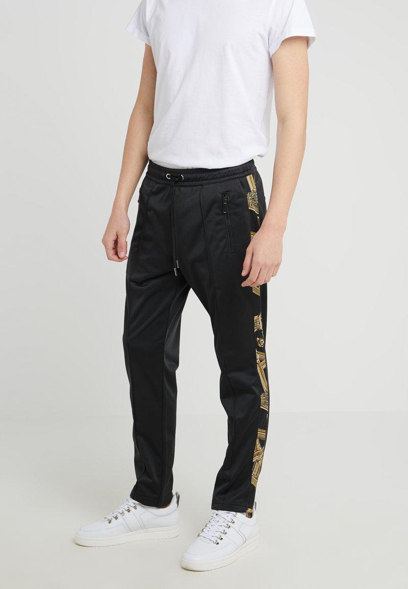 Versace Jeans - JOGGERS - Träningsbyxor - black