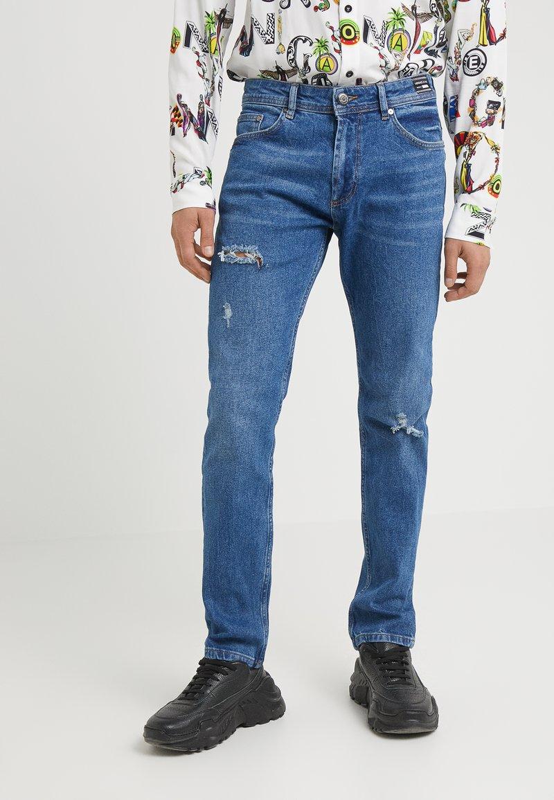 Versace Jeans - NARROW - Slim fit jeans - blue denim