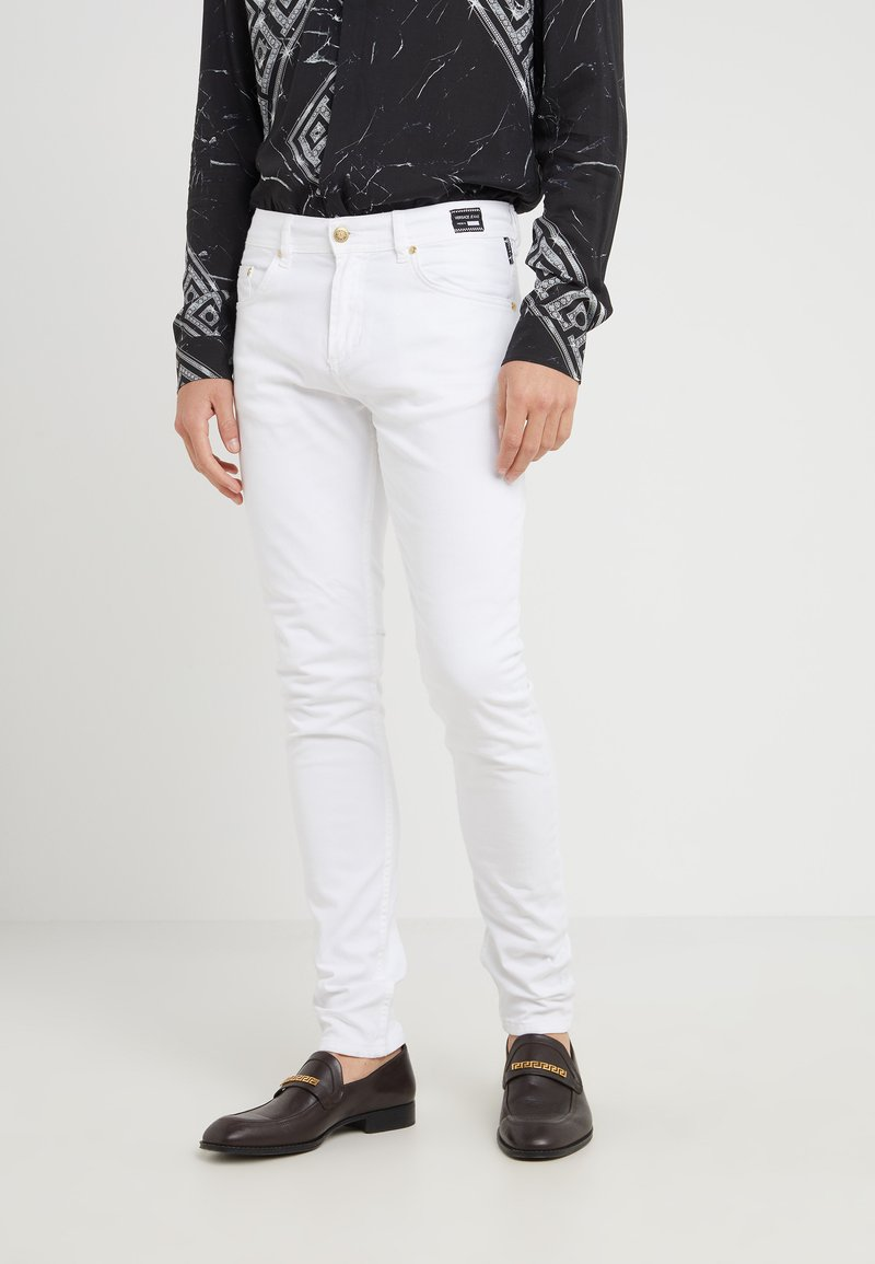 Versace Jeans - Jeans Skinny Fit - white denim