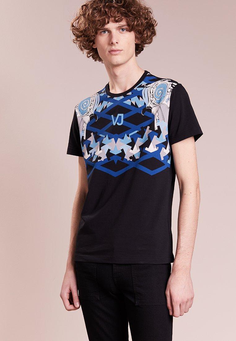 Versace Jeans - MAN  - T-shirts med print - nero