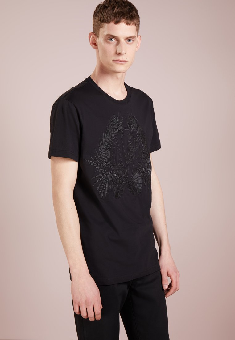 Versace Jeans - T-shirts med print - nero