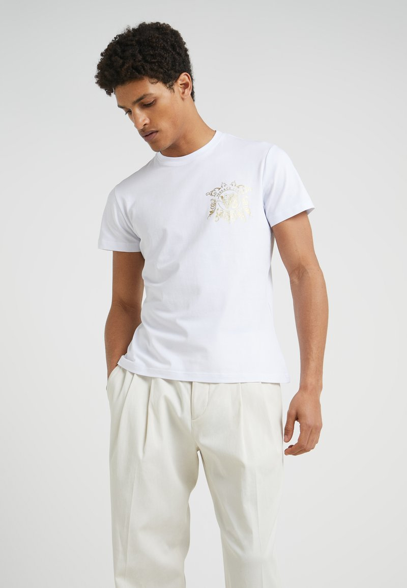 Versace Jeans - T-Shirt print - bianco ottico
