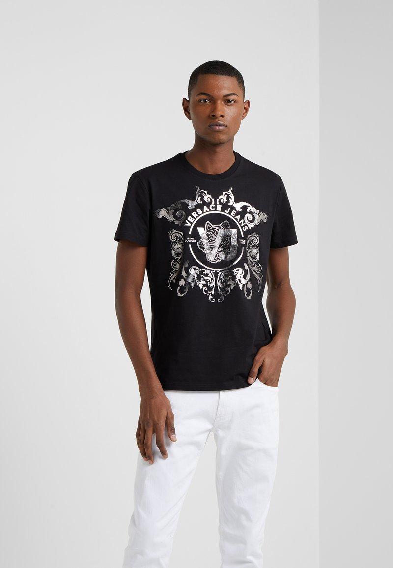 Versace Jeans - T-shirt imprimé - black