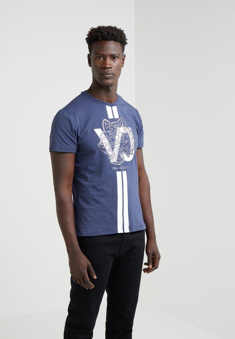 Versace Jeans - Printtipaita - navy