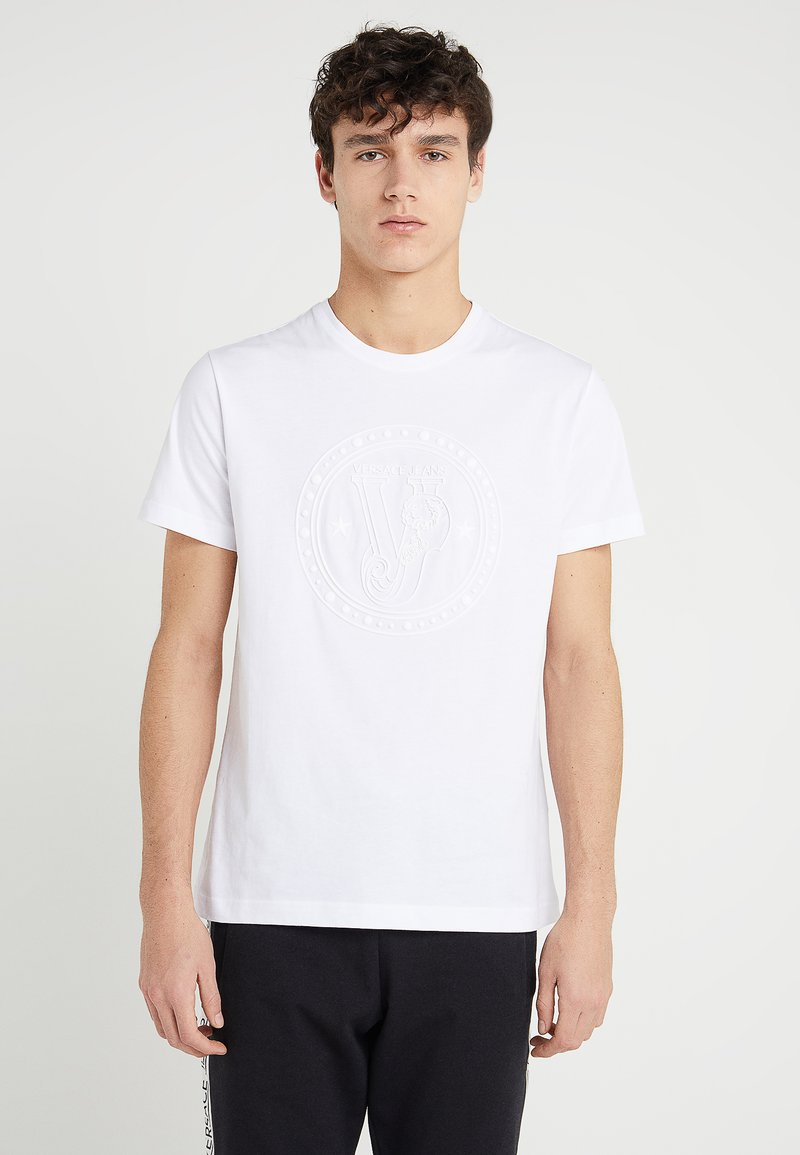 Versace Jeans - Printtipaita - white