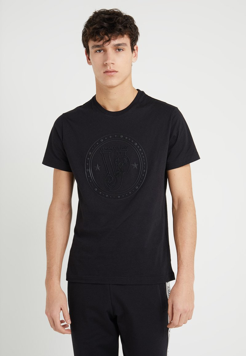 Versace Jeans - Printtipaita - black