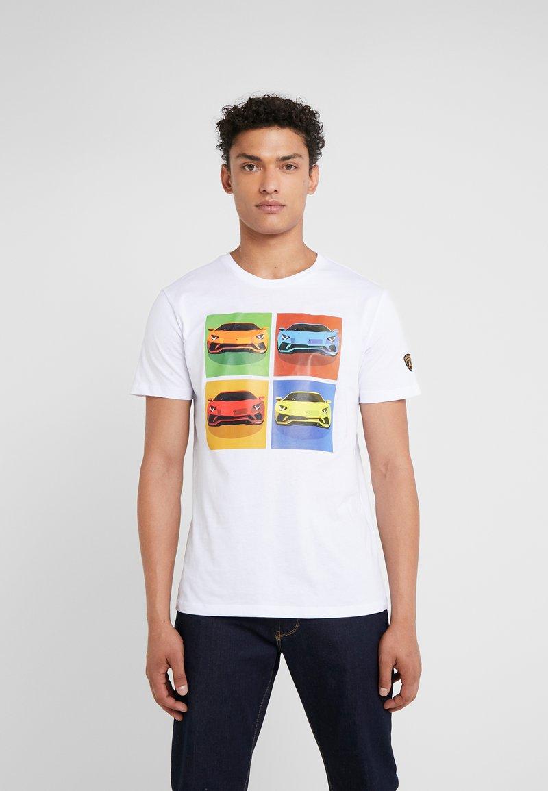 Lamborghini - T-Shirt print - white