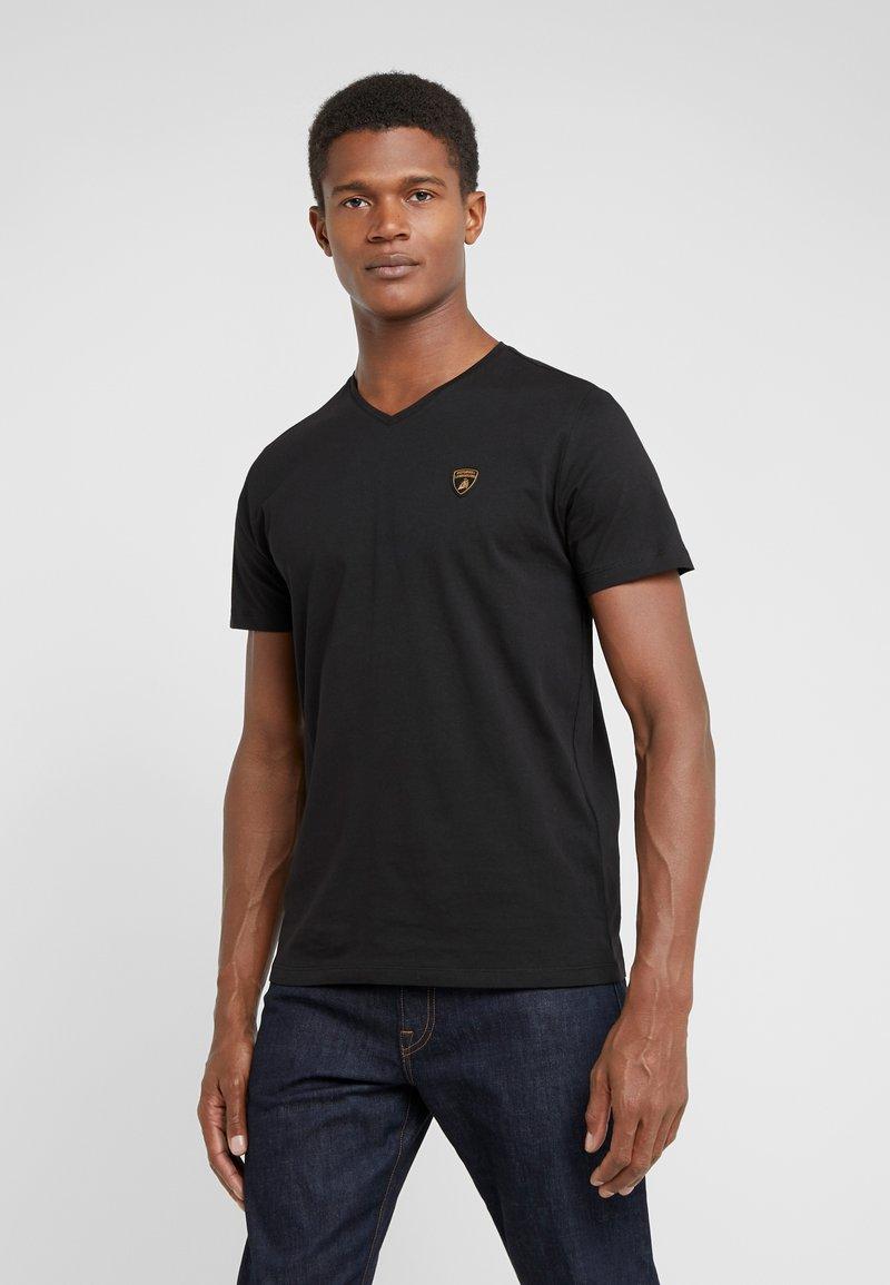 Lamborghini - T-shirt con stampa - black