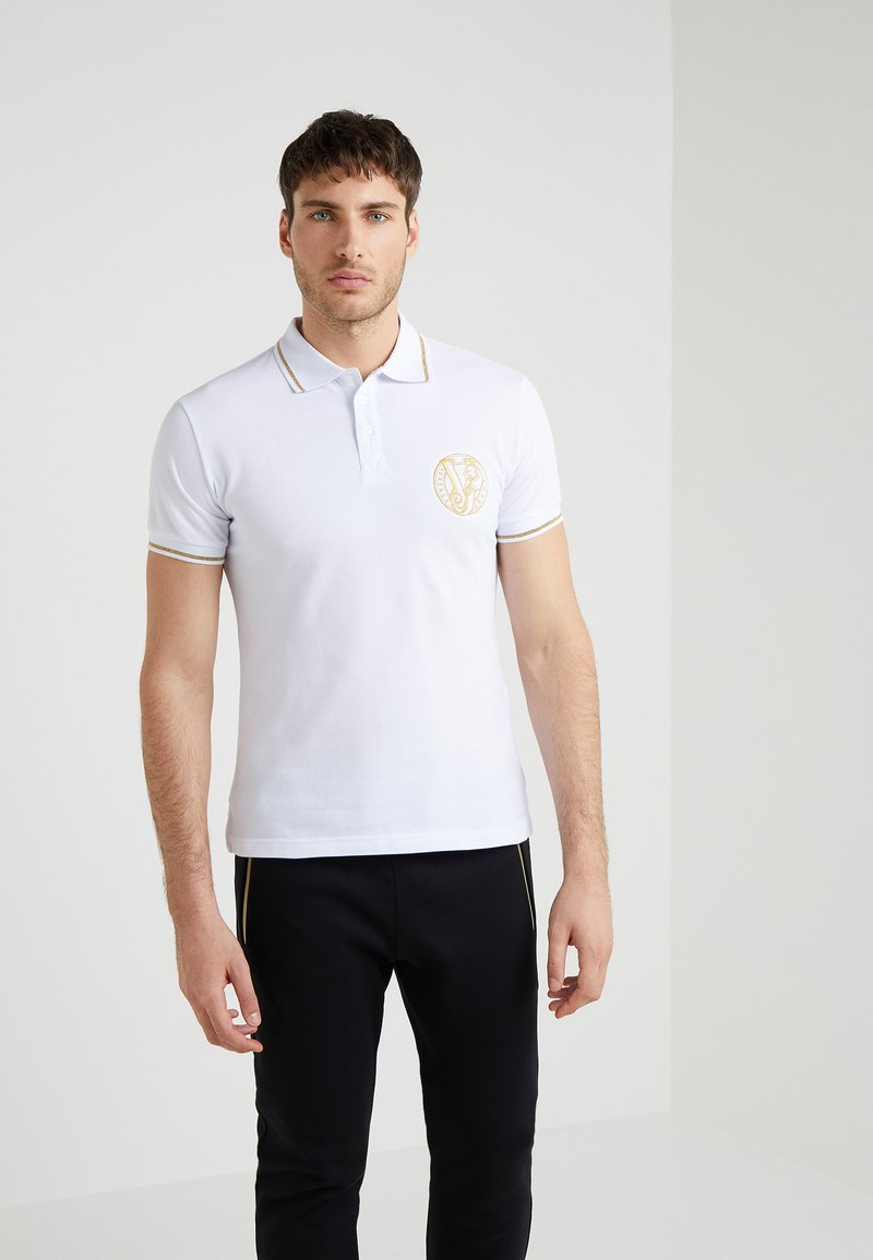 Versace Jeans - Polo - white/gold