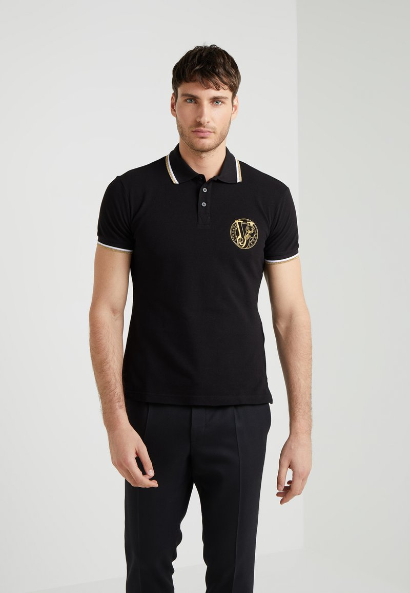 Versace Jeans - Polo - black /gold