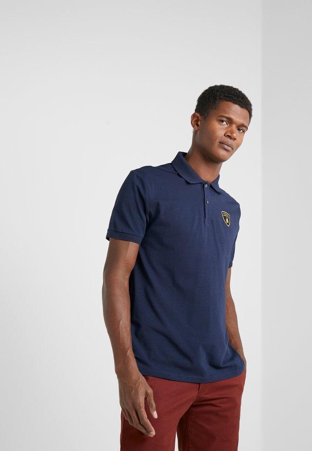 Koszulka polo - prussian blue