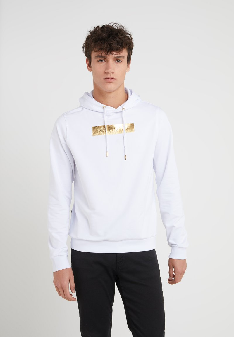 Versace Jeans - LABEL - Hoodie - white