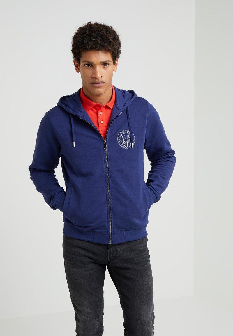 Versace Jeans - Sudadera con cremallera - dark blue
