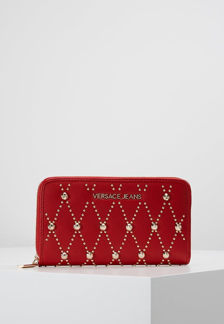 Versace Jeans - SQUARE ALLOVER WALLET - Geldbörse - rosso