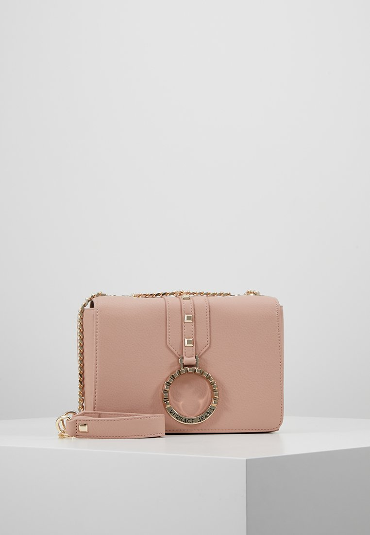 Versace Jeans - ROUND SHOULDER CHAIN - Across body bag - rosa