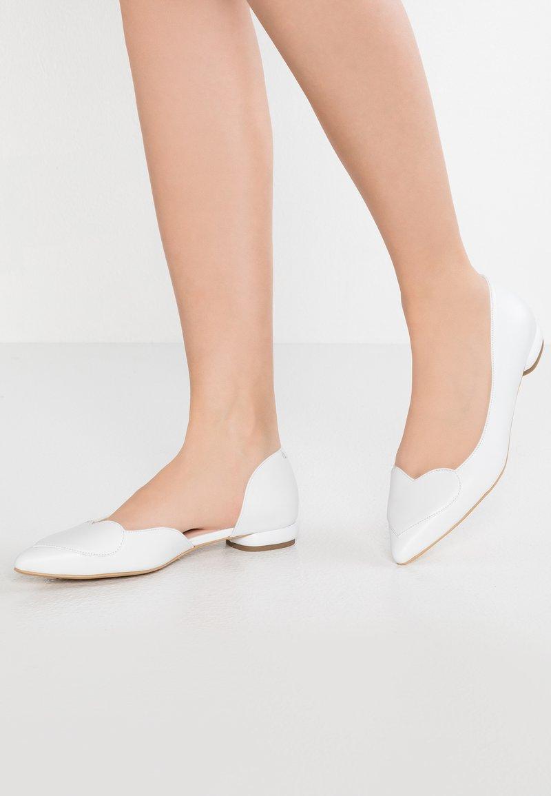 Yes I Do - BIG HEART - Klassischer  Ballerina - white