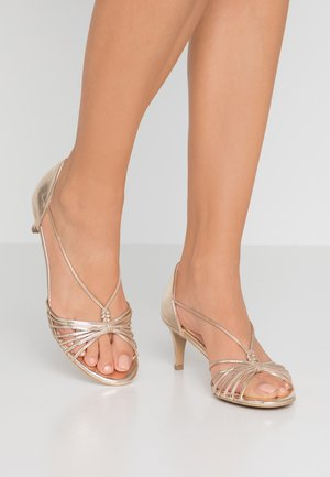 GABRIELLE - Sandals - gold