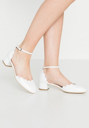 PRINCESS WAVE UP - Bridal shoes - white