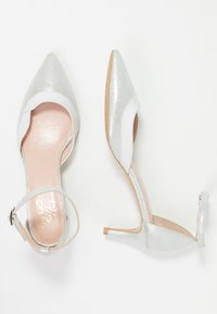 Yes I Do - NIGHT - Klasické lodičky - silver/white - 3
