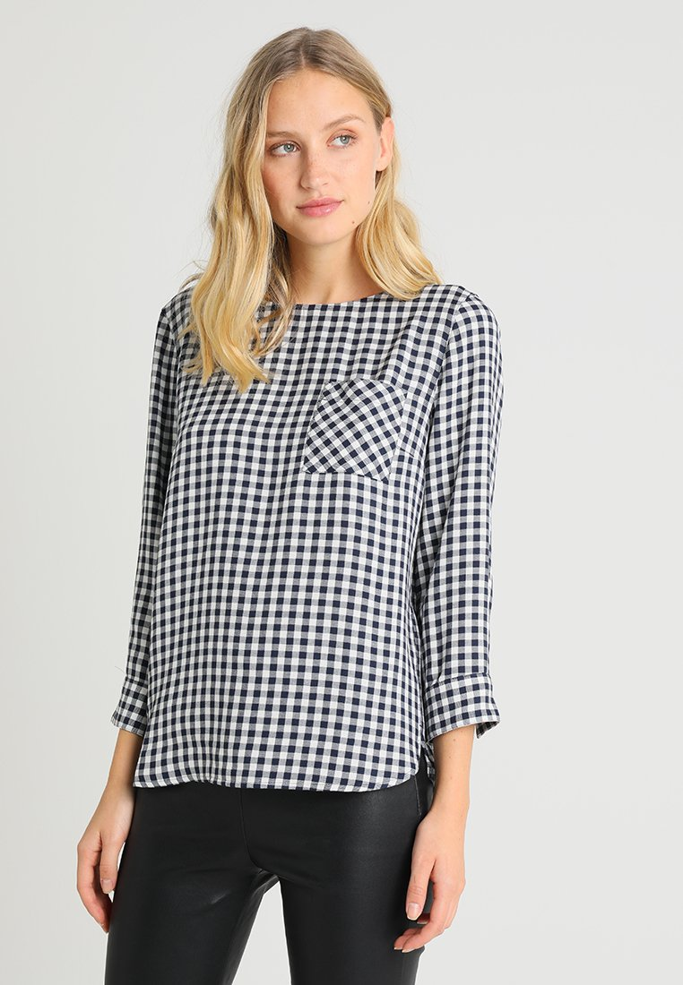 Marc O'Polo - BLOUSE NORMAL FIT SLEEVED - Bluser - combo