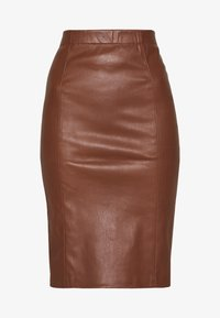 Ibana - EMILO - Pencil skirt - brown - 3