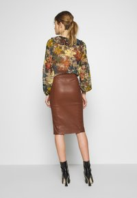 Ibana - EMILO - Pencil skirt - brown - 2