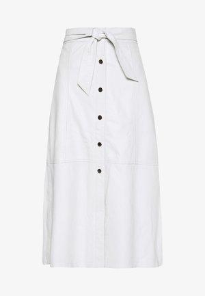 FLO - A-line skjørt - white