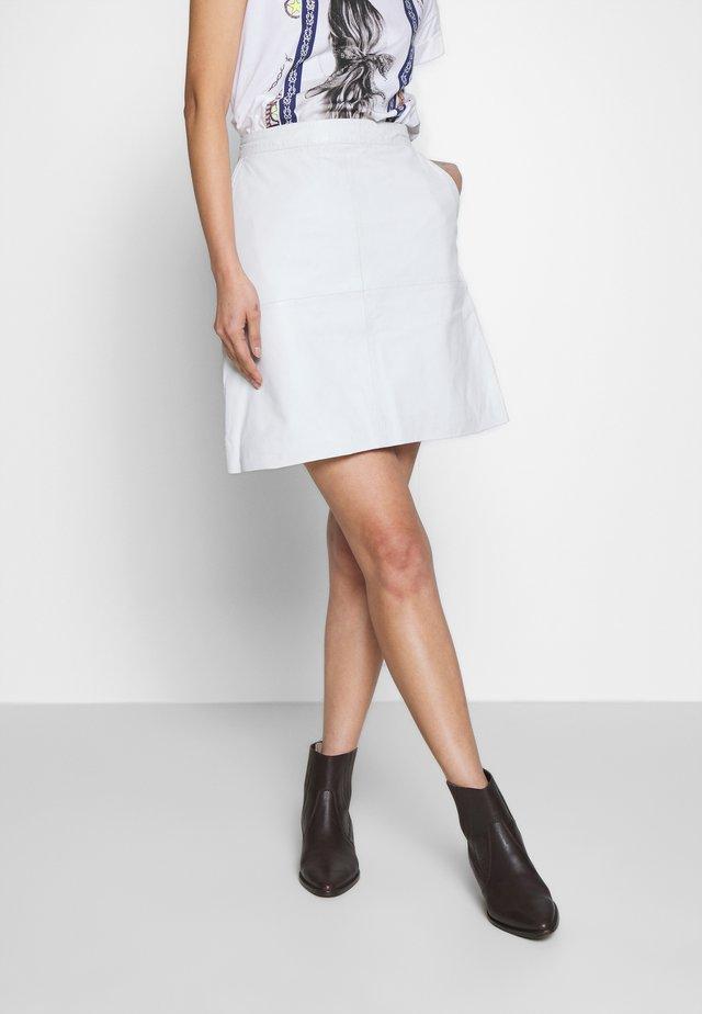 VITA - Mini skirt - white