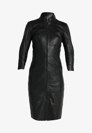 FIRE - Robe fourreau - black