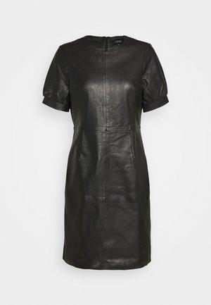 ODILA - Shift dress - black