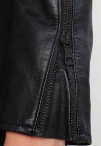Ibana - Giacca di pelle - black - 4