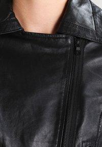 Ibana - Giacca di pelle - black - 3